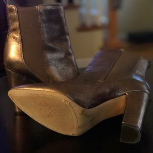 Vince Camuto Shoes - Vince Camuto Metallic Booties